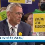 Martin Dvořák v předvolební aréně Jaromíra Soukupa
